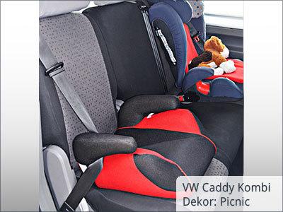VW Caddy Maxi brauers hinten