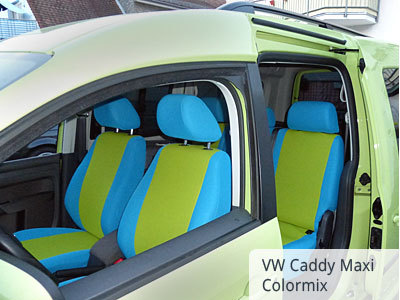 VW Caddy Maxi vorne color