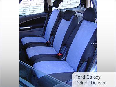 Ford Galaxy Sitzbezüge Hintergarnitur
