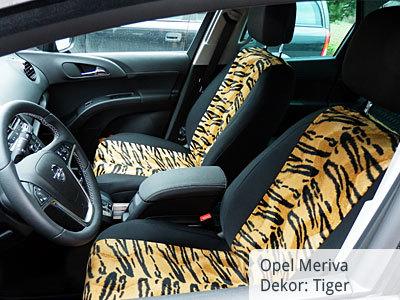 Opel Meriva B Sitzbezüge Vordergarnitur