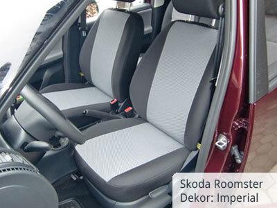 Skoda Roomster Sitzbezüge Vordergarnitur