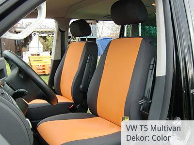 VW T5 Multivan Sitzbezüge Vordergarnitur