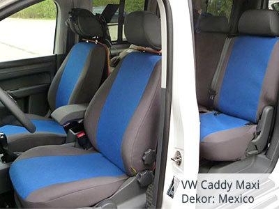 VW Caddy Maxi Sitzbezüge Komplettset