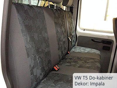 VW T5 Doppelkabiner Pritsche Sitzbezüge