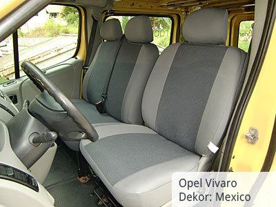 Opel Vivaro Sitzbezüge kunstlederverstärkt