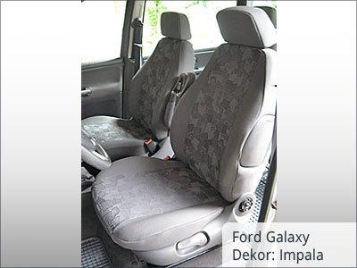 Ford Galaxy Sitzbezüge Vordersitze von vorne