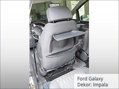 Ford Galaxy Sitzbezüge Vordersitze von hinten